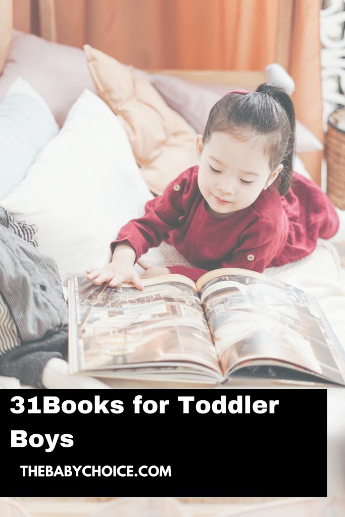 31 Books for Toddler Boys 1