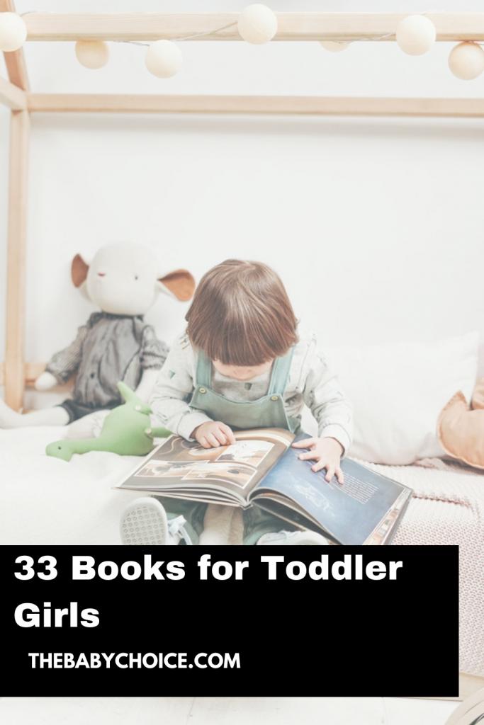33 Books for Toddler Girls 1