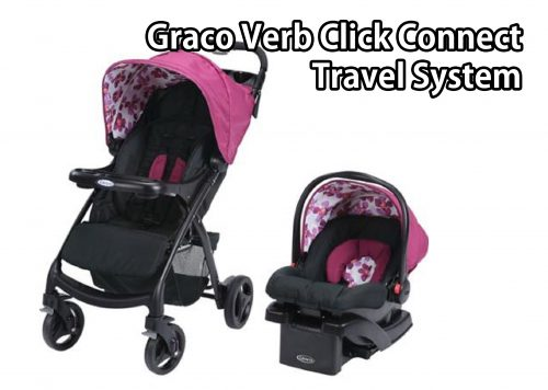 Graco Verb Click Connect Travel System, With Snugride Click Connect